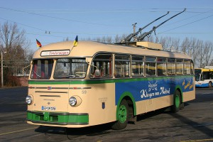 Oldtimer O-Bus